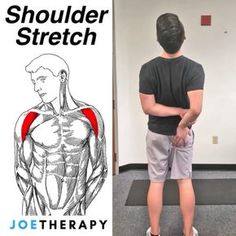 Repost Grab Your Butt and Stretch Your Shoulder! - 🍑Had a bunch of requests for more shoulder stretches so here is one for the… Stretches Before Workout, Stretching Exercises, Fitness Workouts, Yoga For Beginners Flexibility, Shoulder Stretches, Yoga For Back Pain, Shoulder Workout, Yoga Benefits, Fett