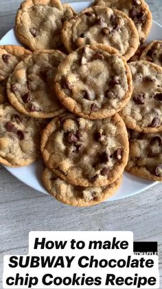 Fun Baking Recipes, Easy Cookie Recipes, Sweet Recipes, Snack Recipes, Cookie Recipie, Easy To Make Cookies, Chocolate Cookie Recipes, Simple Chocolate Chip Cookies, Recipes