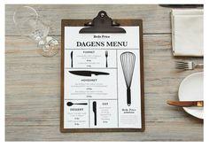 Brdr. Price Restaurant by Rikke Blicher, via Behance