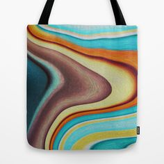 Lava Tote Bag by Stancu Digital Art - $22.00