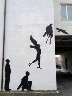 #streetart   Photo de Tiger Law dans Google+
