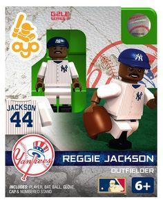 New York Yankees Reggie Jackson Hall of Fame Limited Edition OYO Minifigure