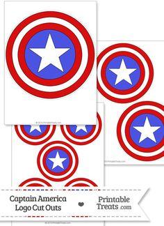 Captain America Logo Cut Out