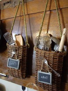 great idea for all those utensils!