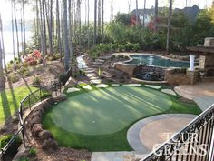 Lovable Backyard Putting Green Ideas Backyard Putting Green Outdoor Decoration Ideas - The art of yard designs is generally to accomplish one goal, and one