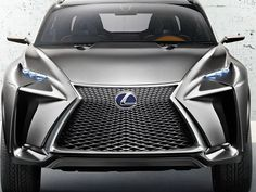 Lexus SUV startles with bold Darth Vader look