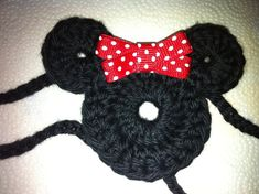 Mickey and Minnie Mouse Crochet Headbands.