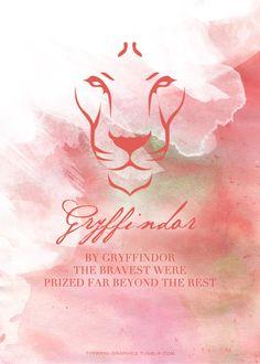 Gryffindor: by Gryffindor the bravest were prized far beyond the rest.