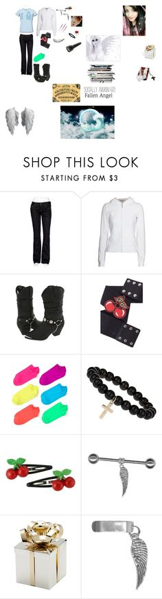 """""""Natalie-Resurrected"""" by cc-argento ❤ liked on Polyvore featuring Miss Me, Juicy Couture, HTC, Dingo, Hue, CO and Kimberly Wolcott"""