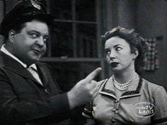 """""""The Honeymooners"""" Ralph and Alice Kramden"""