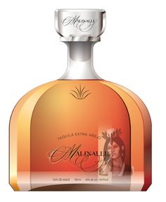 Malinalli Tequila Extra Anejo, Nominated for the 2014 Tequila Aficionado Brands of Promise Awards Tequila Beer, Tequila Bottles, Liquor Bottles, Vodka Bottle, Perfume Bottles, Fun Drinks, Alcoholic Drinks, Spirit Drink, Gin