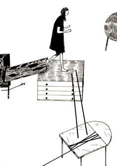 Henry McCausland aka HHBM / http://henrymccausland.com / #blog : http://hhbm.tumblr.com #illustration #drawing