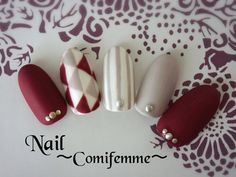 21 New Ideas For Natural Manicure Ideas Classy Toe Matte Nails, Red Nails, Love Nails, Pretty Nails, Nail Art Strass, Nails Decoradas, Nagel Hacks, Japanese Nails, Nagel Gel