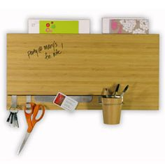 Bamboo Dry-Erase Channel Panel $70.00