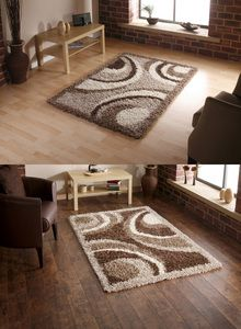 Vista Circle & Arch Design Machine Made Rug (Various Colours & Sizes)