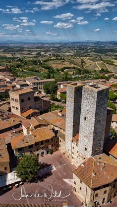 San Gimignano in Tuscany, Italy