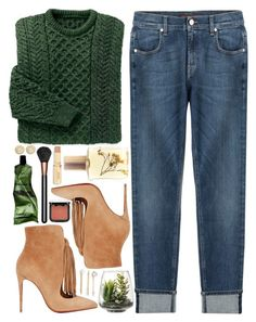 """""""#762 Felicia"""" by blueberrylexie ❤ liked on Polyvore featuring MAC Cosmetics, Christian Louboutin, 7 For All Mankind, Threshold, Aesop, Michael Kors, Flidais Parfumerie, Jules Smith and NYX"""
