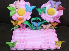 Chupetero de Flores y Mariposas