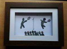 Pebble Art: Wimbledon by CornishPebbleArt on Etsy