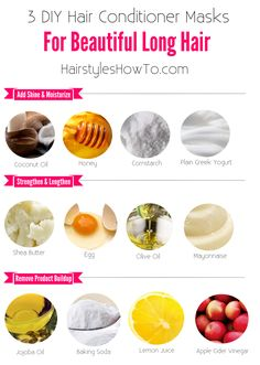 3 DIY Hair Conditioners for Beautiful Hair