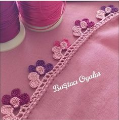 # Hayırlıcu Studien – Nazan Yıldız – Willkommen in der Welt der Stiefel Crochet Edging Patterns, Crochet Lace Edging, Crochet Borders, Crochet Doilies, Crochet Flowers, Embroidery Patterns, Hand Embroidery, Crochet Towel, Crochet Baby