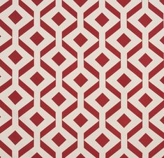 """Feroe"" Balance and harmony of 50s-inspired geometric patterns. Comes in 3 colors."