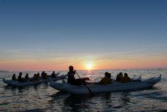 Le camping de Parme **** situé à 2 km des plages de Biarritz vous ouvre les portes de nombreuses activités comme le va'a (ou pirogue polynésienne) sur l'Océan Atlantique ! ☛http://bit.ly/biarritzparme  #Biarritz #PaysBasque #camping #NouvelleAquitaine #Atlantique #1photo1camping