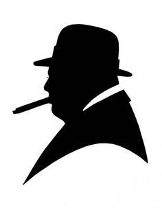 Winston Churchill Graphic