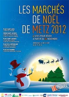 www.noel-a-metz.com  Découvrez la magie des fêtes de Noël à Metz à partir du 24 novembre 2012 - Marché de Noël à Metz