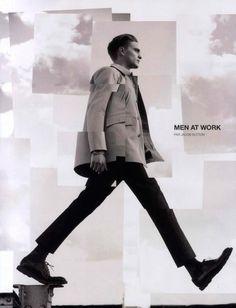 Manuel Vera   El editorial Men at Work de la revista Numéro Homme Fotos de Jacob Sutton y estilismo de moda de Samuel François