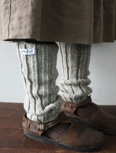 [envelope online shop] Bergfabel leg warmer Lisette New...I could live in these all winter..and those shoes...DIVINE!!!