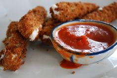 Vegan Mozzarella Sticks