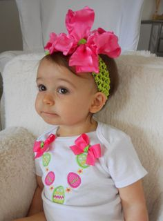 Easter Shirt or Onesie Easter Egg Necklace by aubreyandlily, $20.00