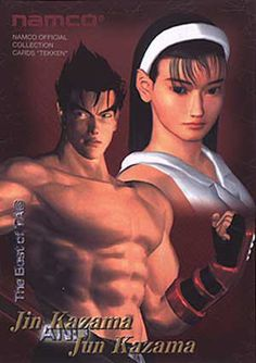jin kazama all finished up tekken 3 was a game changer for me the
