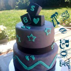 #cake #babyshower #babyshowercake #itsaboy #dessert