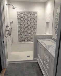 Bathroom Floor Tiles, Bathroom Wall Decor, Bathroom Interior Design, Bathroom Fixtures, Bathroom Ideas, Bathroom Designs, Bathroom Organization, Simple Bathroom, Bathroom Storage