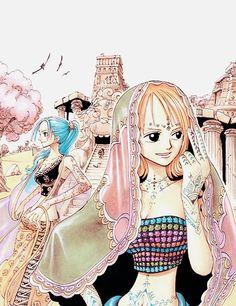 One Piece, Nefertari Vivi, Nami