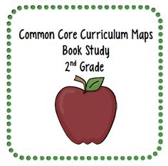 Common Core Curriculum Maps Book Study - 2nd grade - FREE printables