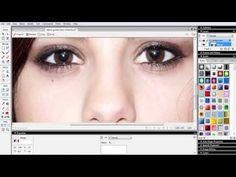 Fotoshop İle Pratik Göz Rengi Değiştirme | Fotoshop Yap İndirmeden Photoshop Ve Fotomontaj Yap
