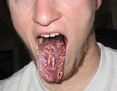 Oral health risks of tongue tattoos News Dentagama health tattoos - Tattoos And Body Art Cool Tattoos For Guys, Badass Tattoos, Body Art Tattoos, Sleeve Tattoos, Hot Tattoos, Awesome Tattoos, Tongue Tattoo, Tattoos 2014, Tattoo Trends