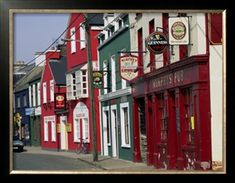 Pubs in Dingle, County Kerry, Ireland