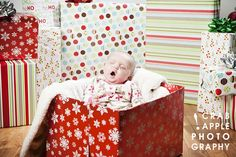 Baby Holiday Photos :: 3 months » Crabapple Photography Boston Photography