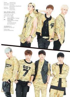 Jackson,Mark,Yugyeom,Bambam,Youngjae,Jinyoung,JB ♡                                                                                                                                                                                 Plus