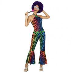 Disfraz Disco Retro para mujer #disfraces #carnaval #novedades2017