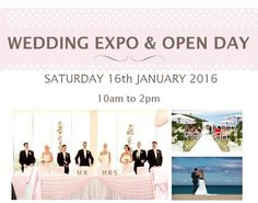 Opal Cove Wedding Expo & Open Day - Saturday 16 January 2016 from 10am to 2pm.