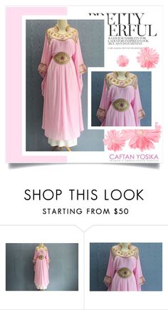"""""""Caftan Yosika 4"""" by amra-mak ❤ liked on Polyvore featuring caftanyosika"""
