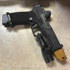 Weapons Guns, Guns And Ammo, Custom Glock, Long Rifle, Mens Toys, Fire Powers, Home Defense, Hunting Rifles, Cool Guns