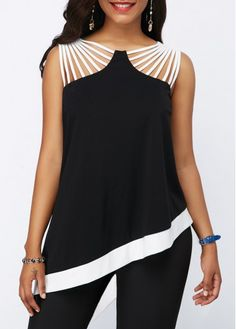 Stylish Tops For Girls, Trendy Tops, Trendy Fashion Tops, Trendy Tops For Women Trendy Tops For Women, Casual Dresses For Women, Blouses For Women, Kleidung Design, Sewing Blouses, Sexy Cocktail Dress, Mode Style, Ladies Dress Design, Blouse Designs