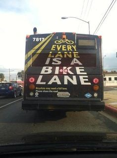 Word! Educating Los Angeles cyclists & drivers.