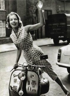 Why hello there lady - All things Lambretta & Vespa